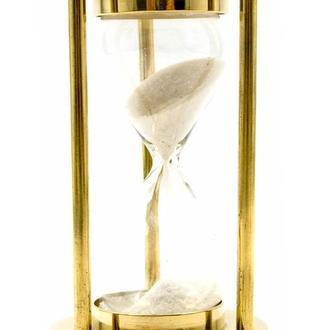 Часы песочные бронза