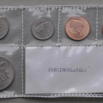 Фиджи набор 1, 2, 5, 10, 20 центов 1969 г. №2
