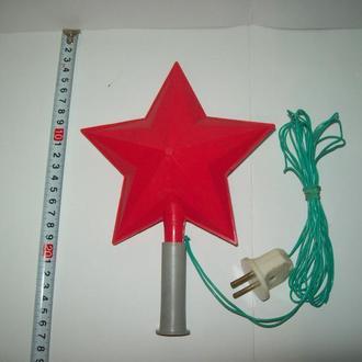 Верхушка на ёлку Звезда про-во СССР