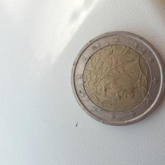 2 євро италия 2002 год