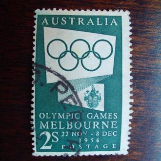Австралия.1955г. Летние олимпийские игры. Полная серия.