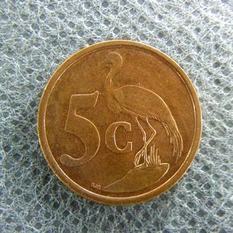 ЮАР 5 центов 2001