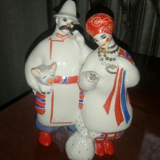 Сорочинская ярмарка(Карась и Одарка на точке)