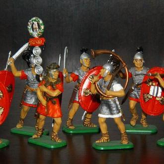 римляне  ITALERI  54мм(цветные)