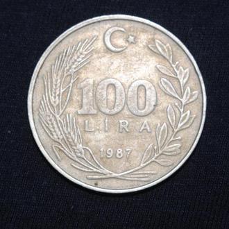 100 лир 1987 г Турция