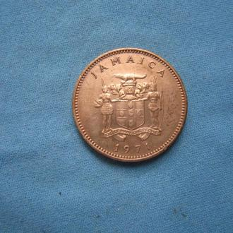 Ямайка 1 цент 1971 год ФАО