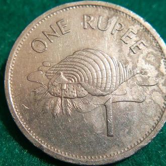 Сейшельские острова 1 рупия 1995