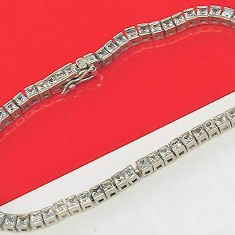 Браслет цепочка серебро 800 проба 13,12 гр длина 20,5 см
