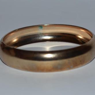 шикарный браслет под золото металл винтаж