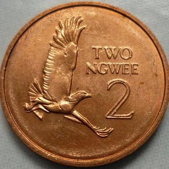 Замбия 2 нгве 1983 фауна состояние