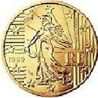 20 евроцентов Франция