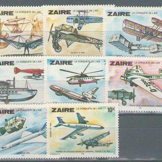 Заир 1979 авиация
