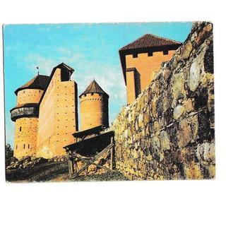 Календарик 1988 Замок Турайдас, Латвия