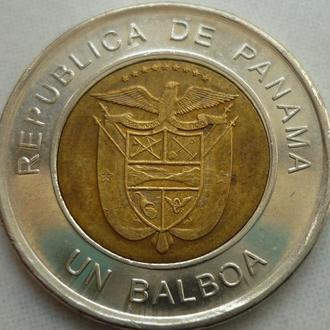 Панама 1 бальбоа 2011 биметалл