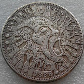 США Доллар 1886 г. Призрак