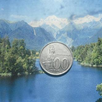 Индонезия 100рупий 1999г