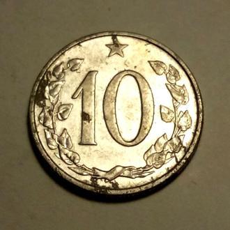 10 геллеров 1962 года Чехословакия !!! а2