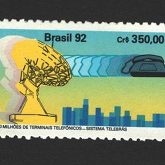 Бразилия - телефония 1992 - Michel Nr. 2468 **