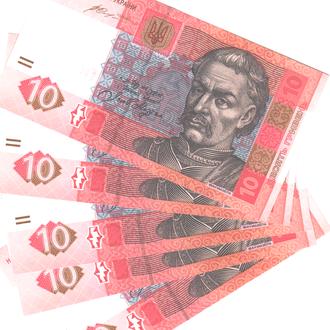Украина 10 гривен 2015 г.  в UNC из пачек с номерами подряд