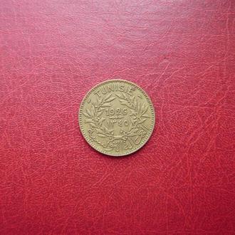 Тунис 2 франка 1926