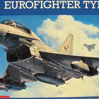 Сборная модель самолета Eurofighter EF2000 Typhoon   Twin Seater  1:48 Revell
