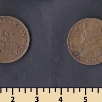 ПАНАМА 1 1/4 СЕНТАВО 1940