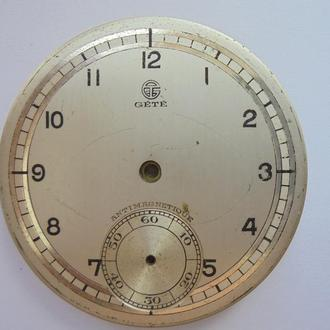 Старинные карманные часы GETE. (№12).