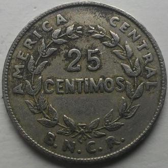 Коста-Рика 25 сентаво 1948 г.