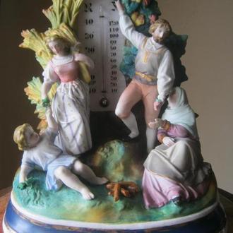 Праздник урожая. Домашний термометр, Франция, 19в.