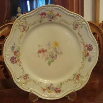 Старинная тарелка REICHENBACH . Фарфор . Германия . № 2Д