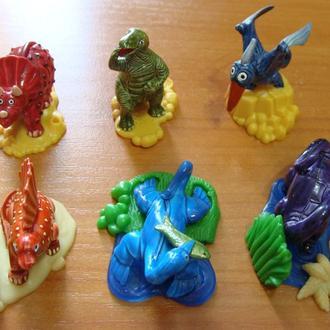 маленькие гиганты     динозавры    за серию
