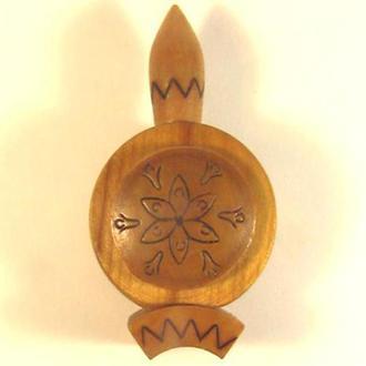 Флакон деревянный для духов