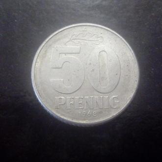 50 пфеннигов (1968) Германия.