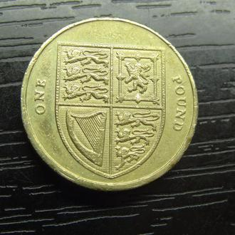 1 фунт 2012 Британія