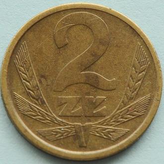 (А) Польша 2 злотых, 1983