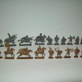 Солдатики рыцари богатыри витязи времён СССР