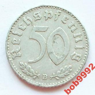 50 пфенингов 1940 В