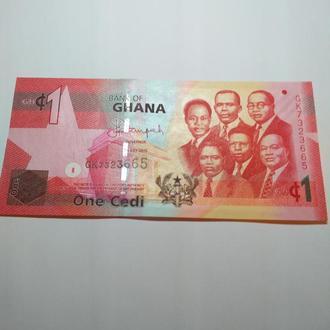 1 седи, Гана 2015,, Unc, пресс, оригинал