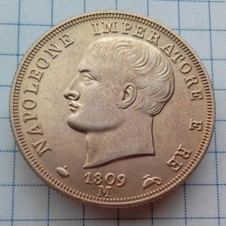 Италия 40 лир 1809-м года Император Наполеон, копия