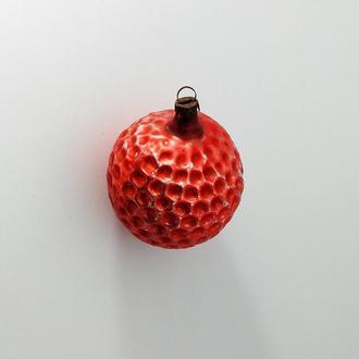 Елочная игрушка Мячик Гольф, мяч