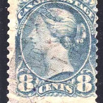 Канада 1888 г - гаш - Виктория - цвет оттенки - Ottawa