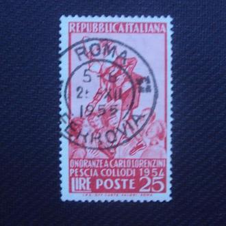 Италия 1954г. гаш.