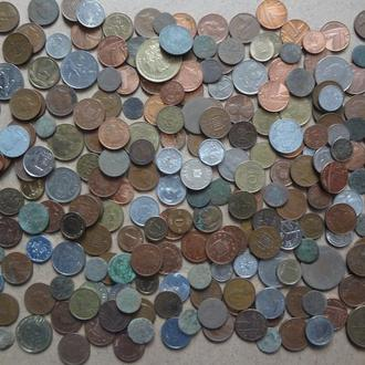 Суперло Иностранные монеты Только зарубежка от старинных до современных с 1 грн,  без  резерва!