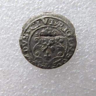 монета средневековья 1611 г.