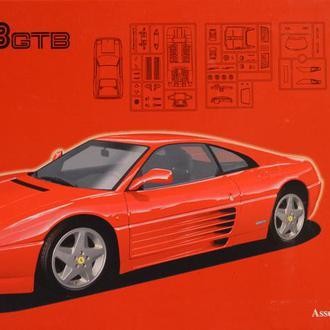 Сборная модель автомобиля Ferrari 348 GTB  1:24 Fujimi