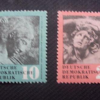ГДР 1958. негаш. полная.