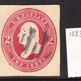 USA / США  --  1883 - 1884 г -