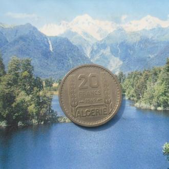 Фр/Алжир 20 франков 1949 года