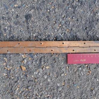 Петля рояльна бронзова 50 см.