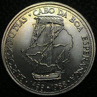 Португалия 100 эскудо 1988 год ПАРУСНИК! ОТЛИЧНАЯ!!!